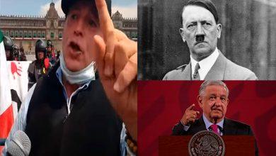 Photo of Gilberto Lozano, Líder De FRENAA Compara A AMLO Con Hitler