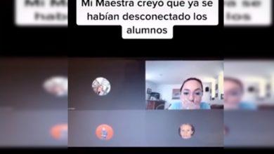 """Photo of """"Se Ponen Bien Perritos Los Burros"""": Maestra Olvidó Apagar Micrófono En Clase Virtual"""