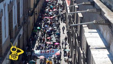 Photo of Manifestación De La CNTE Llega Al Centro Histórico de Morelia
