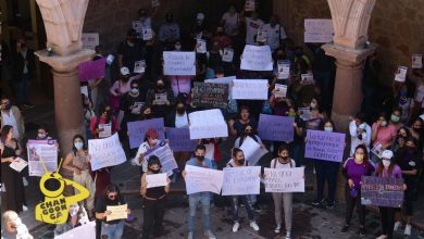 Photo of Con Manifestación En Ayuntamiento De Morelia Exigen Aparición De Jessica