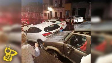 Photo of #Morelia Camioneta Se queda Sin Frenos Y Causa Carambola Por El Pípila