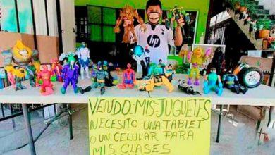 Photo of Pasa En México: Niño Vende Sus Juguetes Para Comprarse Tablet Y Poder Estudiar