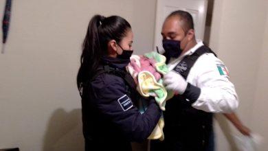 Photo of Polis Morelia Dieron Atención A Bebé Que Nació En Casa De Villas De Oriente