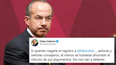 Photo of Responde Calderón Al INE Tras Negarle Registro De Partido Político: Democracia Peligra
