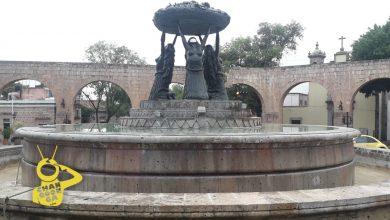 Photo of Limpian Fuente De Las Tarascas Tras Intervención Por Los 43 Normalistas