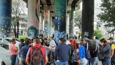Photo of A Pesar De Presencia Policial CNTE Se Concentra En Vías Del Tren