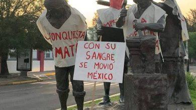 Photo of #Morelia Suspendida Consulta Para Retirar Monumento A Los Constructores