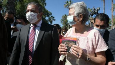 Photo of Encabezan Secretaria Olga Sánchez Cordero Y Raúl Morón, Ceremonia Del CCLV Aniversario Del Natalicio de Morelos