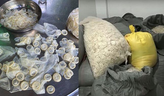 Cierran Fábrica que vendía condones usados