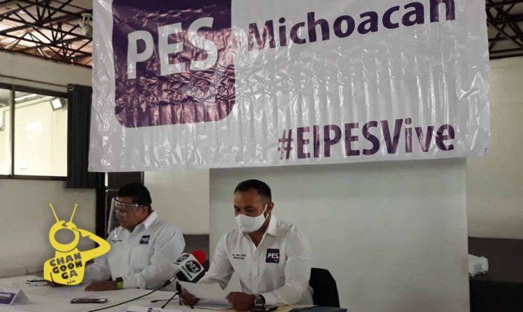 PES Michoacán Asegura Que Regresó Fuerte Para Ganar Elecciones Sin Alianzas