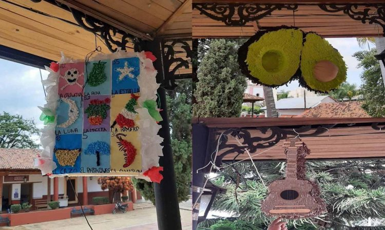 Lotería Gana Concurso De Piñatas En Michoacán