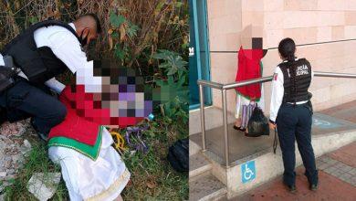 Photo of Pasa En Morelia: Abuelita Se Desmaya De Hambre; Policías La Auxílian