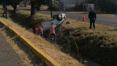 Photo of Chocan 2 Autos En La Morelia – Pátzcuaro; Hay 1 Herido