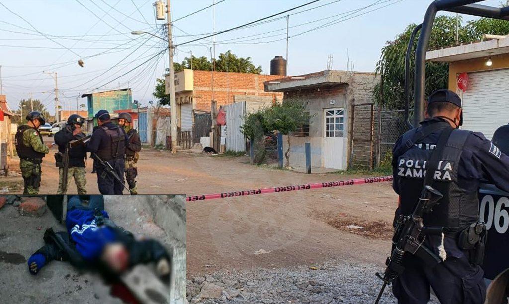 Asesinan a chava en Zamora