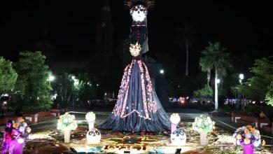 Photo of ¡Wow! Encienden Catrina Monumental En Apatzingán