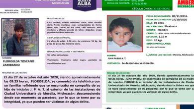 Photo of #Morelia Piden Ayuda Para Localizar A Floriselda Y Su Hijo