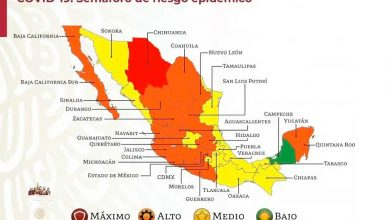 Photo of #Michoacán Regresa A Semáforo Naranja Por Aumento De Casos De COVID-19
