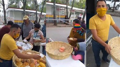 Photo of Activista Moreliano Lleva Pan, Tortas Y Aguas A Papás Con Pacientes En Hospital Infantil