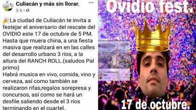 Photo of Trasciende: En Sinaloa Harán #OvidioFest Para Celebrar Liberación Del Hijo Del Chapo