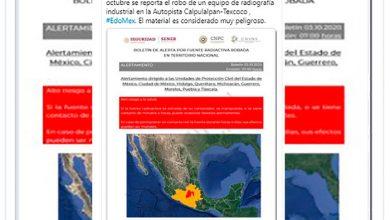 Photo of ¡Alertan A Michoacán! Roban Fuente Radioactiva: Es Peligrosísima