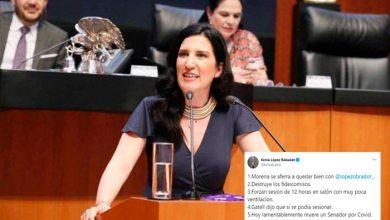 Photo of Por Obligarlos A Sesionar Panista Culpa A Morena Por Muerte De Senador