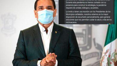 Photo of Alcalde De Pátzcuaro Reclama A Silvano Por No Atender Lo De Noche De Muertos