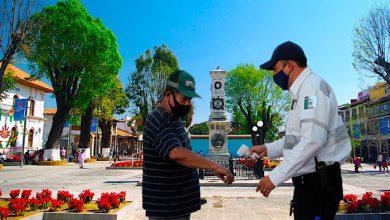 Photo of Vigilarán Uso De Cubrebocas En Centro Histórico De Uruapan