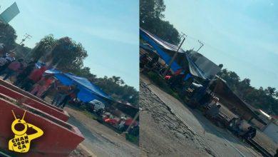 Photo of #Michoacán CNTE Toma, Otra Vez, Vías Del Tren