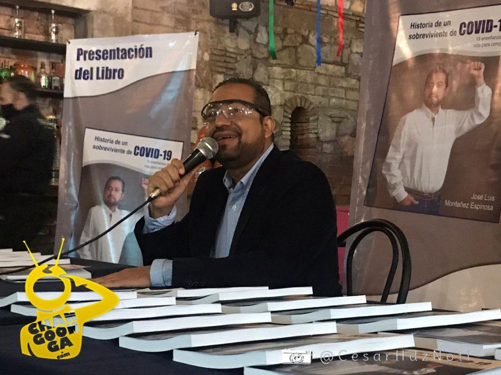 """Funcionario Michoacano Presenta Su Libro """"Historia de un Sobreviviente de COVID-19"""""""