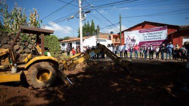 Raúl Morón Impulsará Más Obras A Comunidades, Inicia Pavimentación En Calle Virrey De Mendoza
