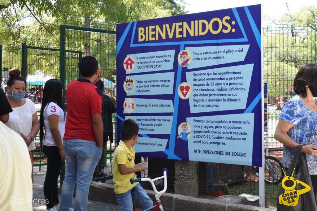 #Morelia Activan Juegos Del Bosque Con Medidas Sanitarias, Pero Gente No Las Respeta