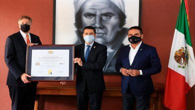 Photo of Embajada De EU Otorga Certificado Por El C5i A Michoacán