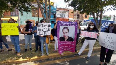"Photo of Feministas Exigieron Justicia Por Feminicidio De ""Gaby"" Frente Al STJE"