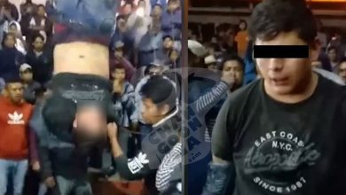 Photo of #Video Ching*s De Pobladores En Uruapan Intentan Linchar A Presunto Ratero