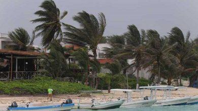 """Photo of Activan Alerta Naranja En Quintana Roo Por Tormenta """"Zeta"""""""