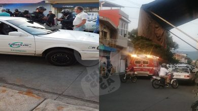 Photo of Durante Tiroteo, Taxista Uruapense Es Lesionado Por Una Bala Perdida