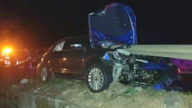 Photo of #ALV! Barra De Contención Atraviesa Auto Y Conductor Michoacano La Libró De Milagro