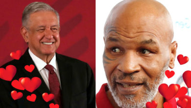 Photo of #OMG Mike Tyson Le Declara Su Amor Al Presi AMLO