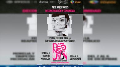 """Photo of Del 2 Al 6 De Diciembre """"Arte Para Todos"""" Los Michocanos: Festival Híbrido"""