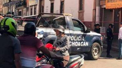 Photo of Asesinan A Balazos A Chavo En Pleno Centro De Puruandiro