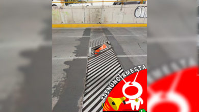 Photo of #Denúnciamesta Hoyo en el Periférico de Morelia ocasionó un accidente