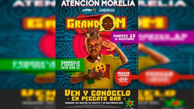 Photo of #OMG 'Grand M' Llega A Morelia Y Podrás Tener Una Foto Con Él