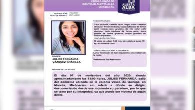 Photo of #Morelia Localizan A Jovencita Desaparecida Desde El 7 De Noviembre
