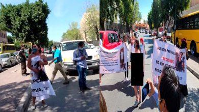 Photo of Pasa En México: Madre De Joven Asesinado Protesta Desnuda Frente A Fiscalía