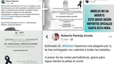Photo of Desmadre Por La Salud De Mireles: NO Ha Muerto Dicen Unos; Ya Falleció Aseguran Otros