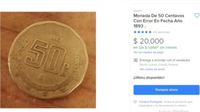 Photo of #WTF Monedas De 50 Centavos Se Venden Hasta en 20 Mil Pesos
