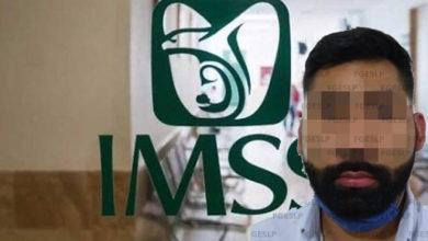 Photo of #DeShock Detienen A Médico Del IMSS Por Violar A Embarazada