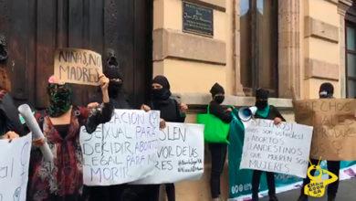 Photo of #Morelia Feministas Intentan Entrar A Congreso Para Exigir Despenalización Del Aborto