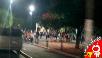 Photo of #Denúnciamesta Arman baile en plaza en la Granjas del Maestro