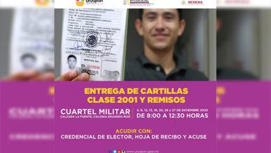 Photo of #Uruapan Entregarán Cartilla Militar, Este 5 De Diciembre